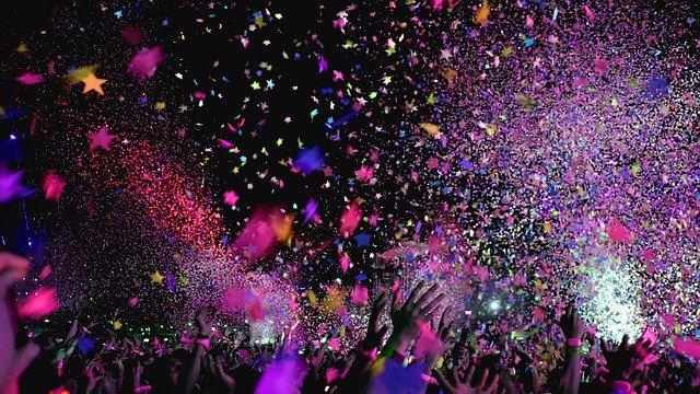 koncert a konfety