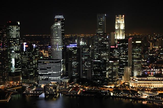 noční velkoměsto