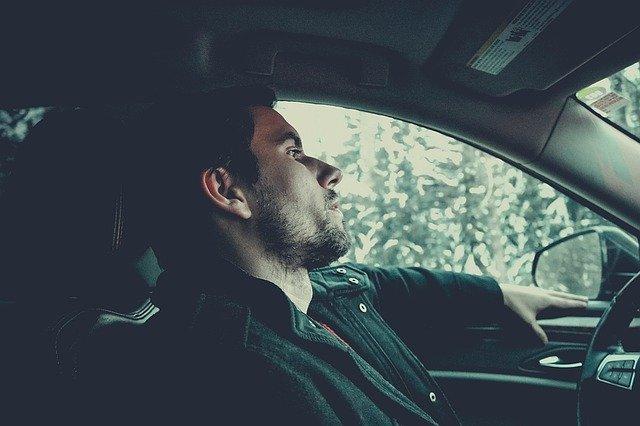 znuděný řidič